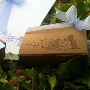 Mon faire part est unique - boîte à dragées - cadeau invités - mariage baptême 11