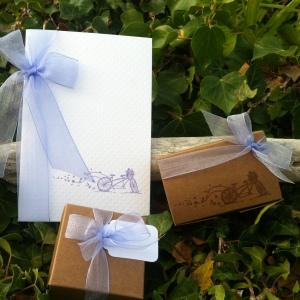 Mon faire part est unique - boîte à dragées - cadeau invités - mariage baptême 5