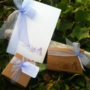 Mon faire part est unique - boîte à dragées - cadeau invités - mariage baptême 6
