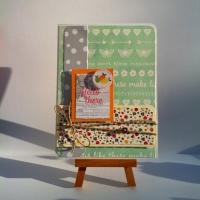 carte colorée et originale pour jeune ado ou femme
