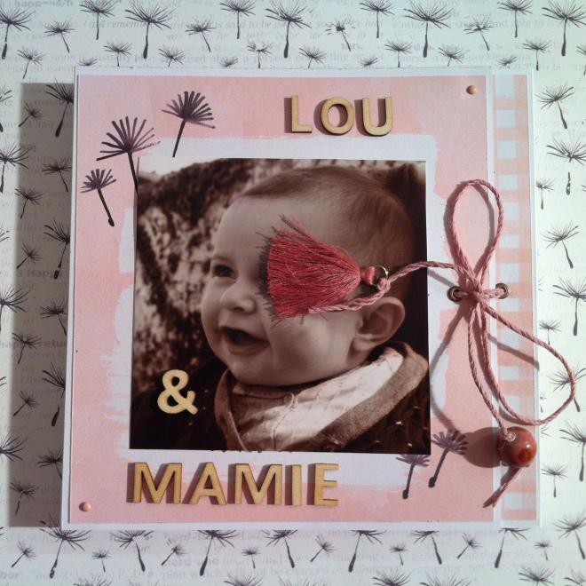 Mini album photos pastel - idéal cadeau de naissance ou fête des mères