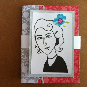Porte carte de fidélité ou porte cartes de visites - porte feuilles - cadeau fêtes des mères
