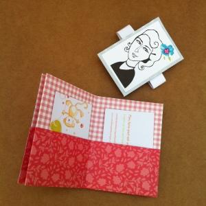 Porte carte de fidélité ou porte cartes de visites - porte feuilles - cadeau fêtes des mèresPorte carte de fidélité ou porte cartes de visites - porte feuilles - cadeau fêtes des mères