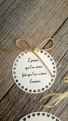 Etiquettes citation poème mariage pour sachets de graines à semer cadeaux invités mariage original 4