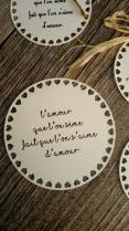 Etiquettes citations poème pour sachets de graines à semer -cadeau original invités mariage 3