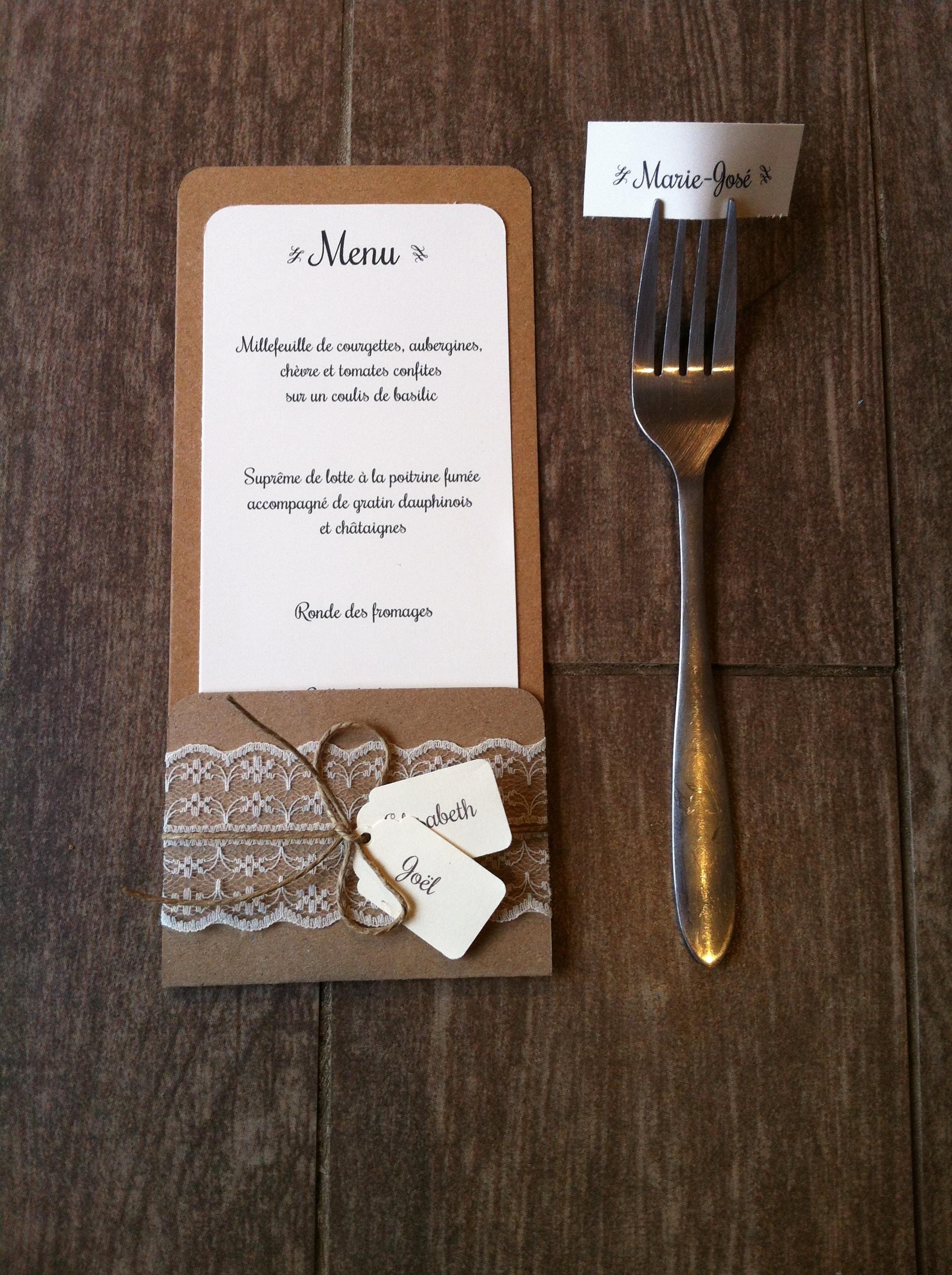 populaire menu mariage champetre bl08 montrealeast. Black Bedroom Furniture Sets. Home Design Ideas