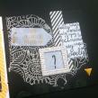 Mini album jaune noir et blanc - Mon faire-part est unique 11