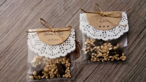 Sachet de graines de jachère fleurie à semer - cadeaux invités de mariage - thème mariage champêtre - cadeau souvenir de mariage 5