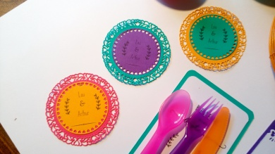 Sous verres colorfull 3