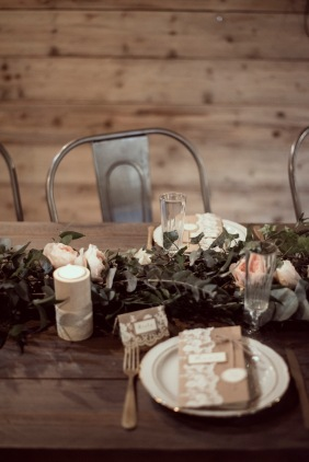décoration de mariage bohème