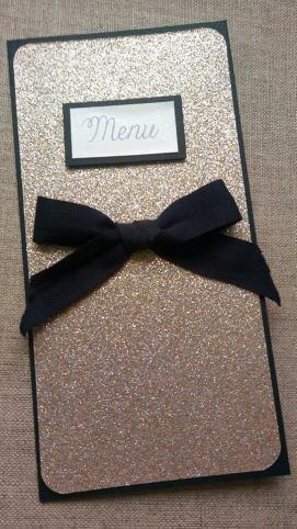 menu or et noir